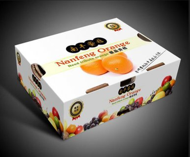 鲜橙汁包装盒