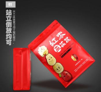 营销宣传效果翻倍之红枣包装袋的优质设计