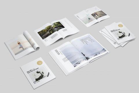 精美的企业画册给客户留下深刻印象